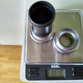 Gewicht Shimano Innenlager BB-RS500 HTII, 68mm, BSA