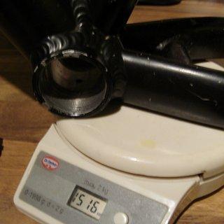 Gewicht Stevens Hardtail S8 Elite 48cm