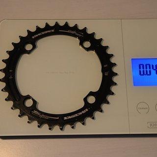 Gewicht Race Face Kettenblatt Single Ring n/w 104mm, 34Z