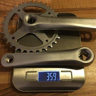 Gewicht Islabikes Kurbel Kurbelgarnitur 140 mm, 4-kant 140 mm