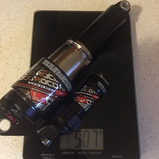 Gewicht Marzocchi Dämpfer ROCO AIR RC WC 222x70