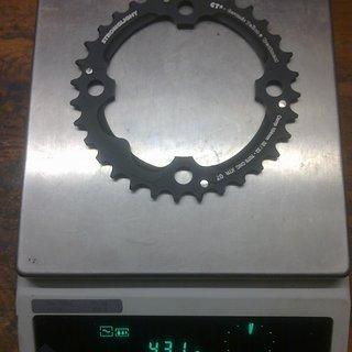 Gewicht Stronglight Kettenblatt CT2 104mm, 32Z