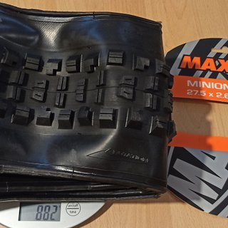 Gewicht Maxxis Reifen Minion DHR II Exo TR Dual 27.5 x 2.60