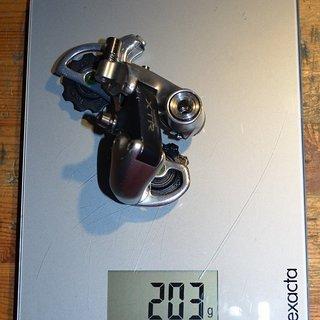 Gewicht Shimano Schaltwerk XTR M900 pimped short Cache