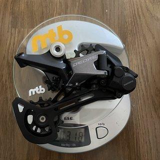 Gewicht Shimano Schaltwerk Deore M6100 12-Fach