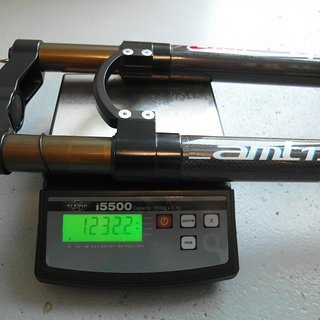 "Gewicht WR Compositi Federgabel AMT-1 29 29"", 1-1/8"", 100mm"