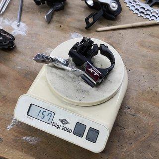 Gewicht Shimano Umwerfer FD-T780