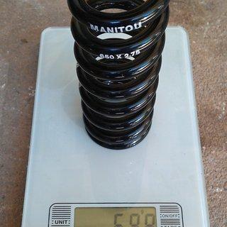 Gewicht Manitou Feder 650 x 2.75 650 x 2.75