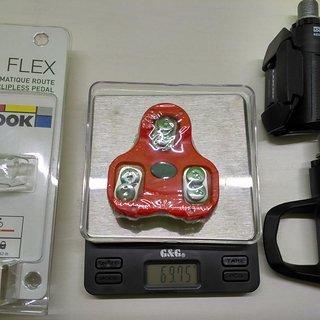 Gewicht Look Weiteres/Unsortiertes Kéo Cleat 9° - rot