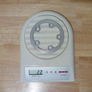 Gewicht Kooka Weiteres/Unsortiertes Drop Stop Kettenfänger/Bashguard 74mm, 5-Arm, 26Z