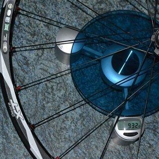 """Gewicht Shimano Systemlaufräder XT WH-M775 26"""", VR: 100/QR, HR: 135/QR"""