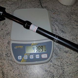 Gewicht Kind Shock Sattelstütze höhenverstellbar LEV CI  27,2 410/100mm