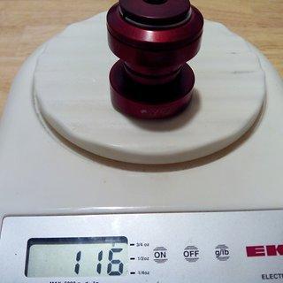Gewicht RPM Steuersatz Headset EC30/25.4, EC30/26