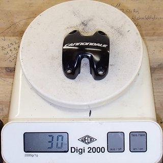 Gewicht Cannondale Weiteres/Unsortiertes Lenkerklemme C3 31.8mm