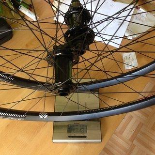 """Gewicht Acros Systemlaufräder nineteen ED / Dt Swiss EX471 / Sapim D-light Race  27,5"""" 15mm/12mm x 142mm"""