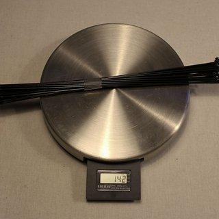 Gewicht Sapim Speiche D-Light 259mm, 32 Stück