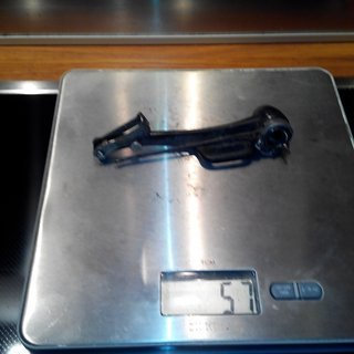 Gewicht Avid Felgenbremse 2.0