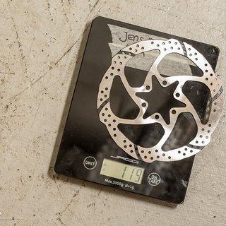 Gewicht TRP Brakes Scheibenbremse TRP Quadiem 160 mm