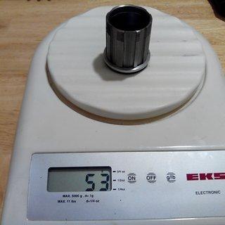Gewicht IBS Weiteres/Unsortiertes Titan Freilauf Kit für Shimano XTR FH-M950 8-fach