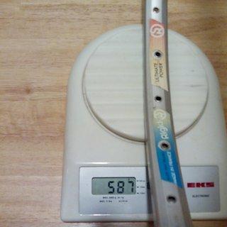 """Gewicht Rigida Felge Nagesti System 26"""" / 559x19 / 32 Loch"""