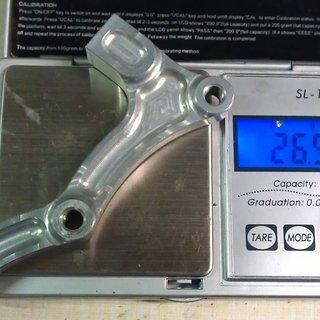 Gewicht Hope Scheibenbremsadapter Adapter G IS >>> PM +63