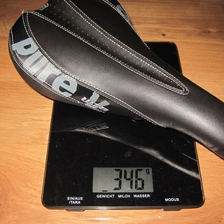 Gewicht WTB Sattel Pure V Race 148mm x 273mm