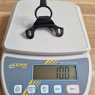 Gewicht Topeak Werkzeug Halterung für Pumpen