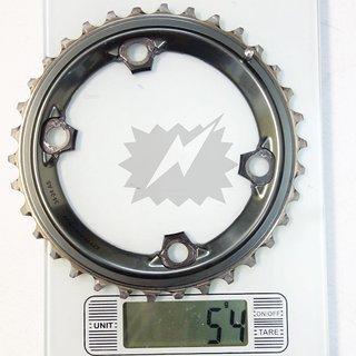Gewicht Shimano Kettenblatt FC-M9000/9020 34t, 96mm