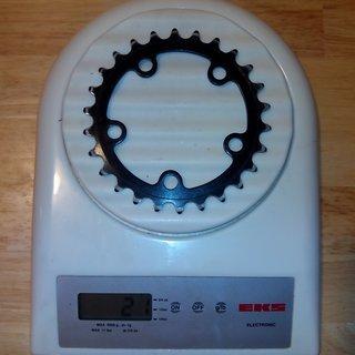 Gewicht Ritchey Kettenblatt Logic 74mm, 26Z