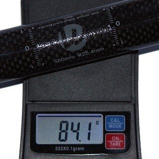 Gewicht Tuning Pedals Lenker VOLCAR Lightbar XC58 25,4 x 580mm