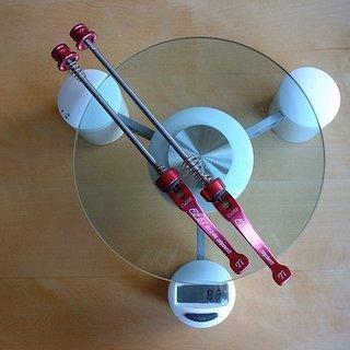 Gewicht A2Z Schnellspanner Schnellspanner (Ti) 100mm, 140mm