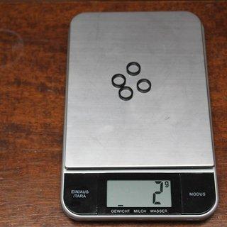 Gewicht Sixpack Kettenblattschrauben Spacer