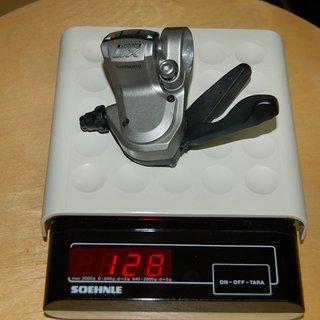 Gewicht Shimano Schalthebel LX SL-M580 3-fach