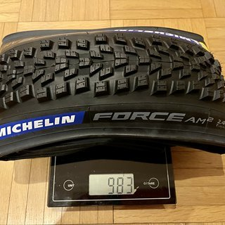 Gewicht Michelin Reifen Force AM2 27,5 x 2.4