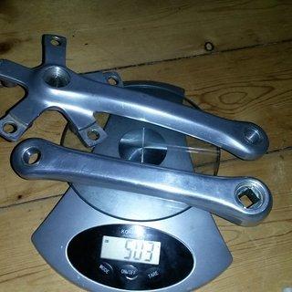 Gewicht Shimano Kurbel FC-AT10 Altus 170mm, 4-kant