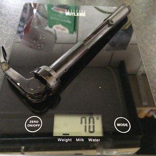 Gewicht Rock Shox Spannachse Maxle Lite 15x100mm