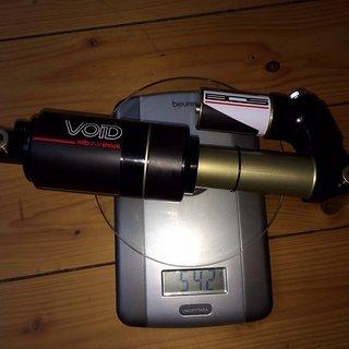 Gewicht BOS Dämpfer Void 240x76 mm