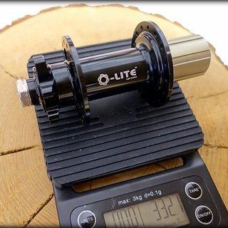 Gewicht Q-lite Nabe QL-815R 150mm/12, 32-Loch