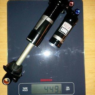Gewicht Rock Shox Dämpfer Vivid R2C 240 x 76
