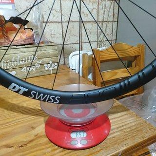 Gewicht DT Swiss Systemlaufräder PRC 1100 DICUT db Clincher 35mm Vorderrad 35mm Felgenhöhe, 12x100 mm Steckachse