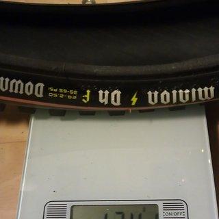 """Gewicht Maxxis Reifen Minion DHF 26x2.5"""" / 55-559"""