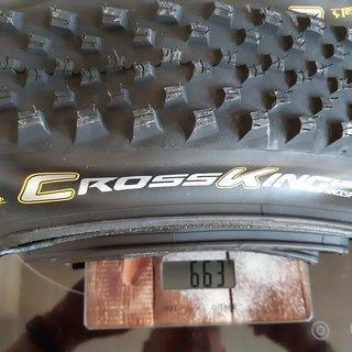 Gewicht Continental Reifen Cross King 2.3 RaceSport 29x2,3 29x2,3