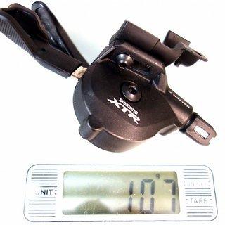 Gewicht Shimano Schalthebel XTR SL-M9000-I 11-fach, I-Spec II
