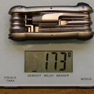 Gewicht Topeak Werkzeug Hummer