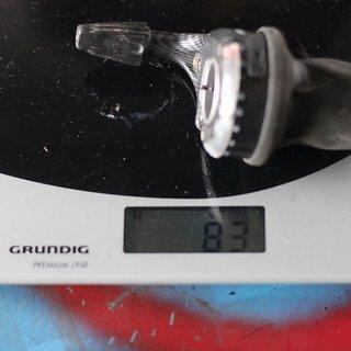 Gewicht SRAM Drehschaltgriff X0 9-fach