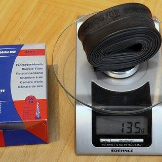 """Gewicht Schwalbe Schlauch SV 14 SV/26x1.5-2.35"""""""