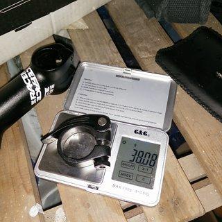 Gewicht Radon Sattelklemme Sattelklemme (QR) 31,8mm