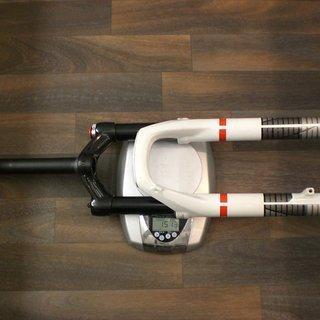 Gewicht DT Swiss Federgabel XRM 100 Single Shot 1 1/8, 182 mm