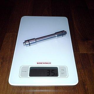 Gewicht Ritchey Weiteres/Unsortiertes Adapter 15mm auf 9mm 15mm -> 9mm