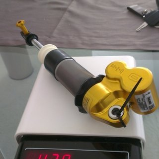 Gewicht Öhlins Dämpfer TTX 22M 240/76